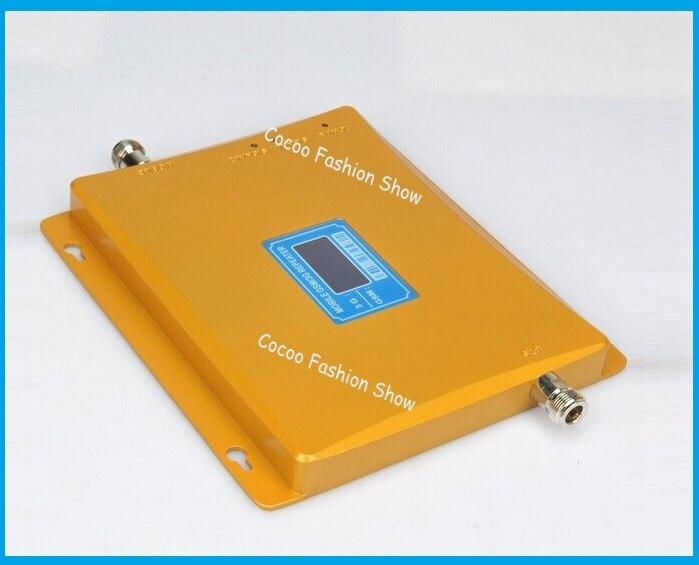 2017 Nouveau Dual Band 65dBi 3G GSM Téléphone Mobile Répéteur de Signal GSM 3G Booster Amplificateur, 3G GSM Cellulaire Signal Booster Extender