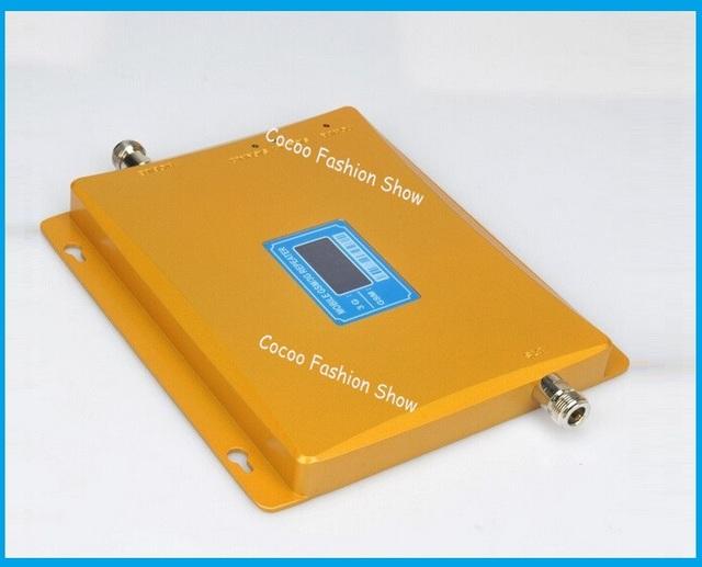 2017 Nuevo Dual Band 65dBi 3G GSM Del Teléfono Móvil Repetidor de Señal GSM 3G Booster Amplificador, 3G Celular GSM Amplificador de Señal Extensor