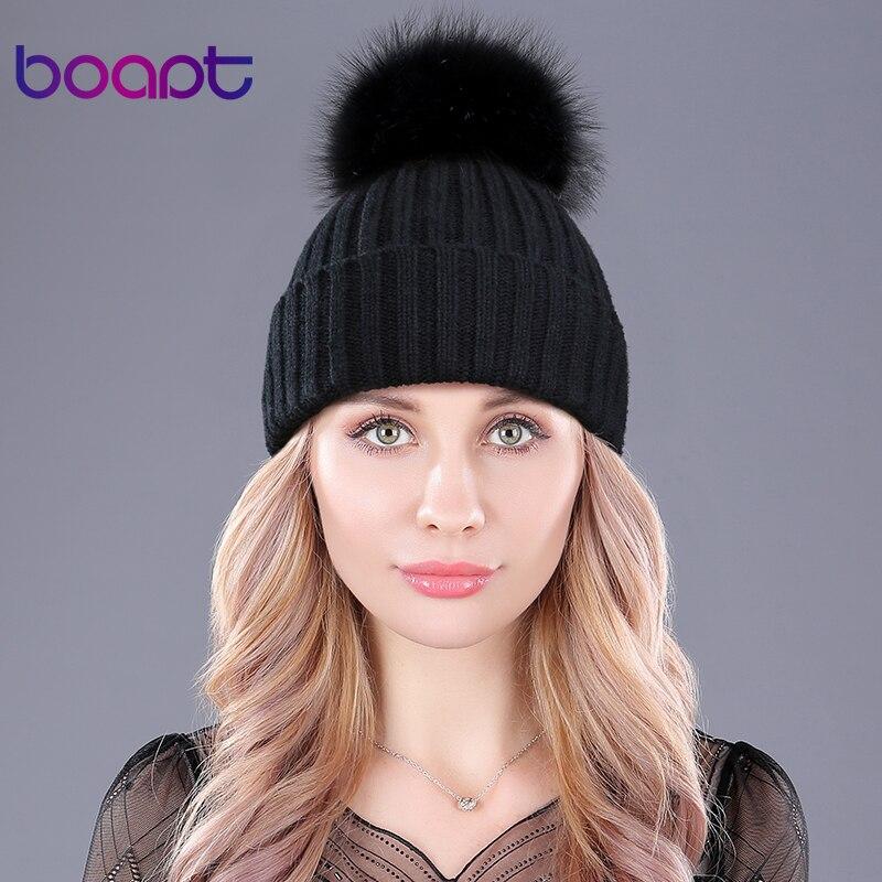 Warm Natural Raccoon Fur Hat 1