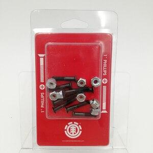 Image 4 - Nuevo tipo de equipo para monopatines de Metal, conjunto de 8 Uds. De tornillos y pernos para montura, monopatines completos