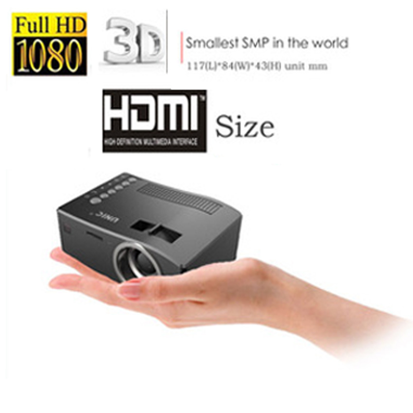 New arrival 2015 unic uc18 mini projector with hdmi tf for Best mini projector 2015