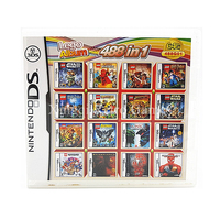 Nintendo NDS Game 488 In 1 Compilations Video Game Cartridge Console Card English Language With Retail