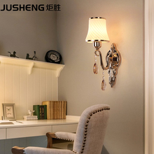 Simple modern bedroom bedside wall lamp European American style living room balcony staircase aisle