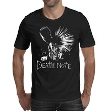 Walter Fanny homme mort-Note-léger-Yagami-Logo-mode coton doux à manches courtes col rond T-Shirts(China)