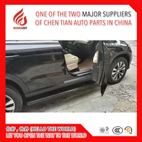 High quality aluminium alloy Automatic scaling Electric pedal side step running board for GLE 2015 2016 2017