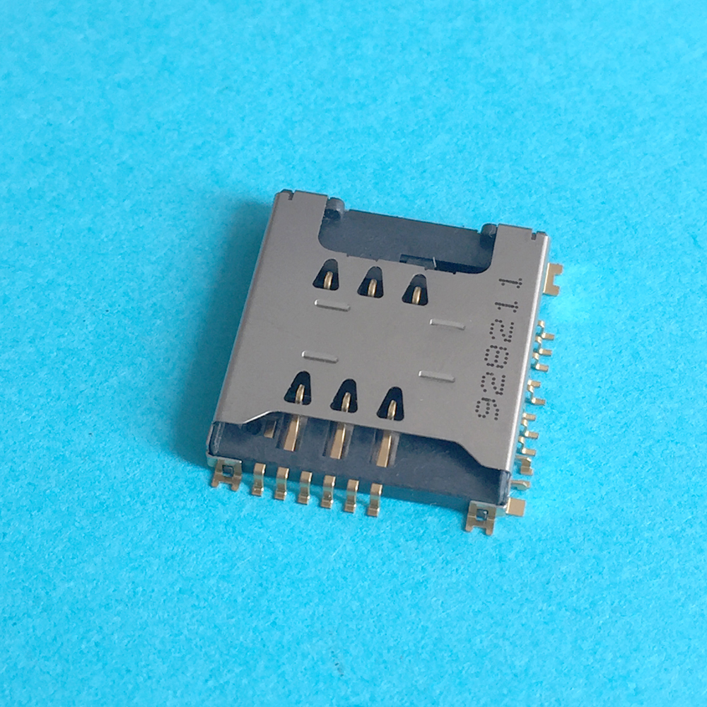 3PCS SIM Micro SD Memory TF Card Tray Reader Slot Holder Socket Replacement Part For LG KP500 KP502 Cookie High Quality