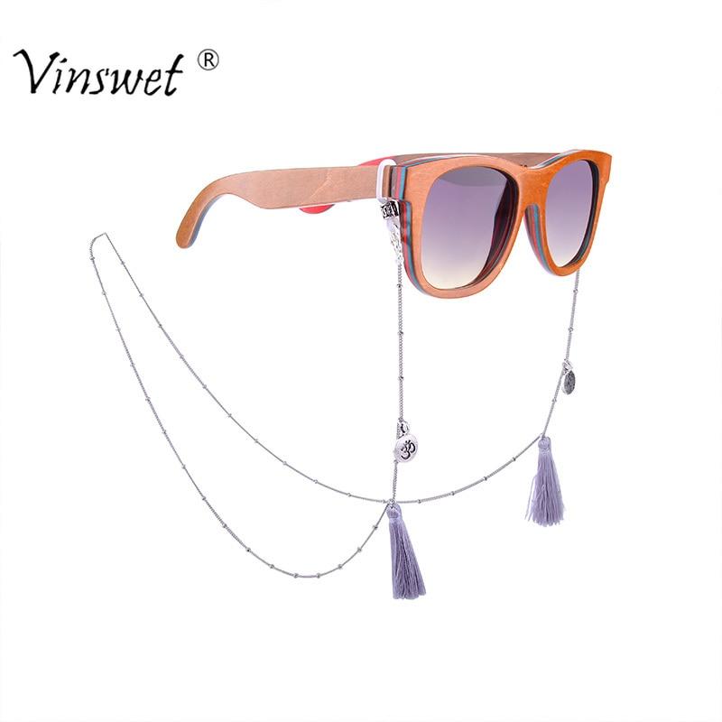 d8fd881cbcd4 Detail Feedback Questions about Fashion Tassel Reading Glasses Chain for  Women Buddha Metal Sunglasses Strap Cords Bead Eyeglass Holder Silver  Eyewear ...