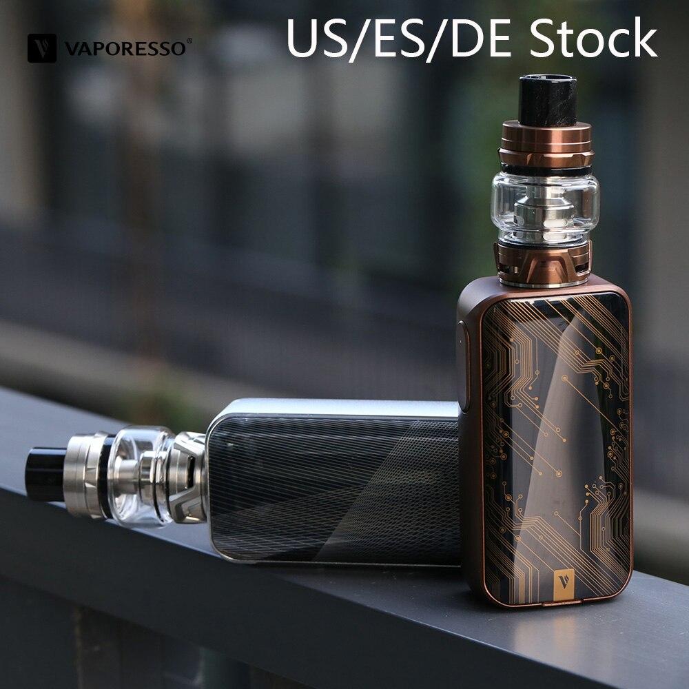 D'origine Vaporesso LUXE avec SKRR Réservoir Vaporisateur Avec 8 ml Atomiseur 220 W Boîte Mod Vaporisateur VS Vaporesso Vengeur Électronique cigarette