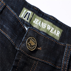 Image 5 - 2017 Autumn Winter Thicken Smart Casual Jeans Men Fashion Denim Trousers Brand Clothing 30 42 Jeans 327B