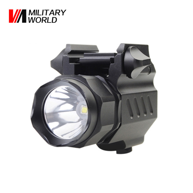 G01 XP-G R5 LED 2 Mode 320 Lumens 3.0V 15270/CR2 Flashlight Outdoor Tactical Gun Torch Light For Airsoft Waterproof Lamp Tool 3800 lumens cree xm l t6 5 modes led tactical flashlight torch waterproof lamp torch hunting flash light lantern for camping z93