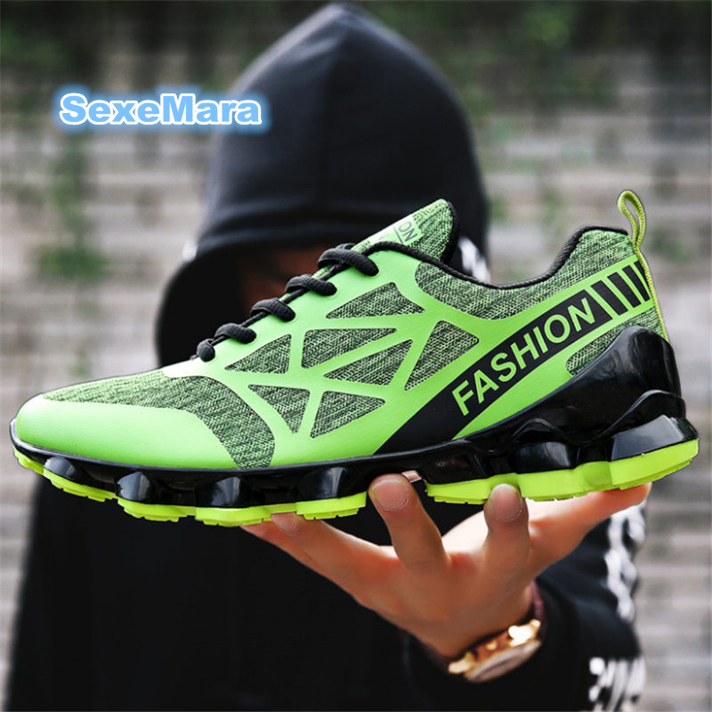 Men running shoes Damping wedge men Sneakers Anti-skid four seasons Sports  arena men Trainers Zapatillas de deporte femeninas sneakers running shoes sports men and women shoes rubber sole anti skid wear student shoe low upper waterproof air cushion hot
