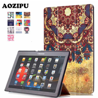 Smart Sleep Print 10 1 Inch Tablet Case Protective Cover For Lenovo Tab2 Tab 2 A10