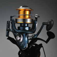 12Ball Bearings Type Fishing Reels Gear Ratio Left Right Hand Interchangeable Spinning Reel REB-8000-9000 Spinning Reels vissen spinneret coil 6 1 ball bearings type fishing reels 6 3 1 gear ratio left right hand interchangeable spinning reel
