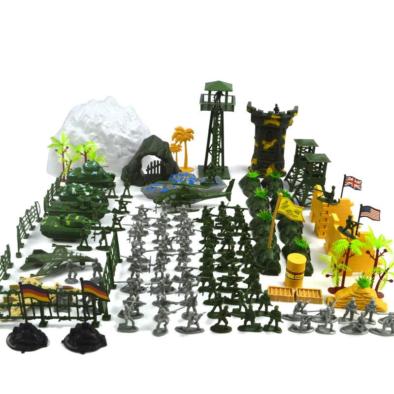 Soldier Toys For Boys : Pcs set cm lifelike mini ⊱ military equipment