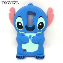Stitch Case For LG K7 Cute Cartoon 3D Soft Silicone Phone Bags For LG K7 X210DS X210 Tribute 5 LS675 K 7 LGK7 Cases Coque Fundas стоимость