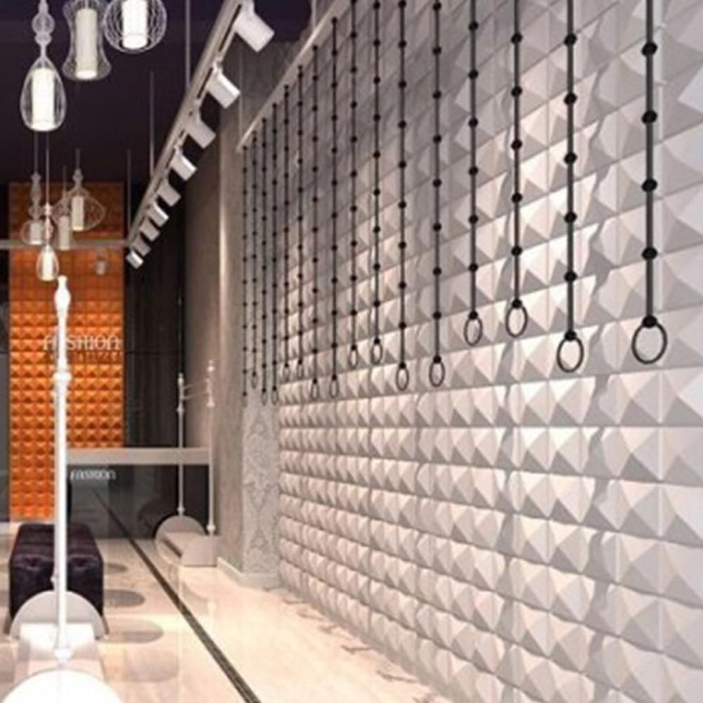 PE Foam Wall Sticker DIY Wallpaper Pyramid 3D Wall Art