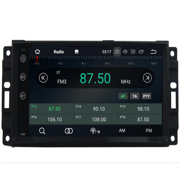 Android 9.04+32G Car DVD Player For JEEP Wrangler Compass Grand Cherokee Commander Dodge GPS WIFI Multimedia Auto Radio Stereo