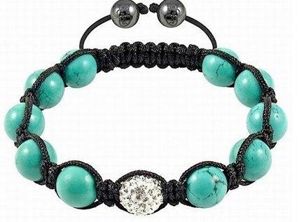 Free shipping! lwe hot micro pave CZ Disco Ball Beads Bracelet fasion Gift jewelry Discount. crystal shamballa
