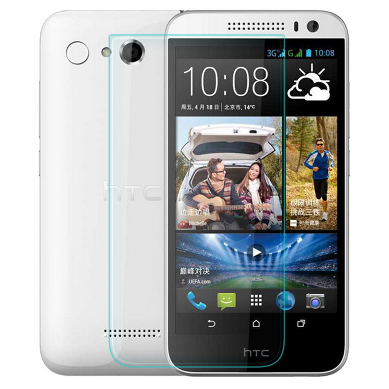 Premium Tempered Glass For HTC Desire 616 D616w Dual SIM Screen Protector 9H Toughened Protective Film Guard