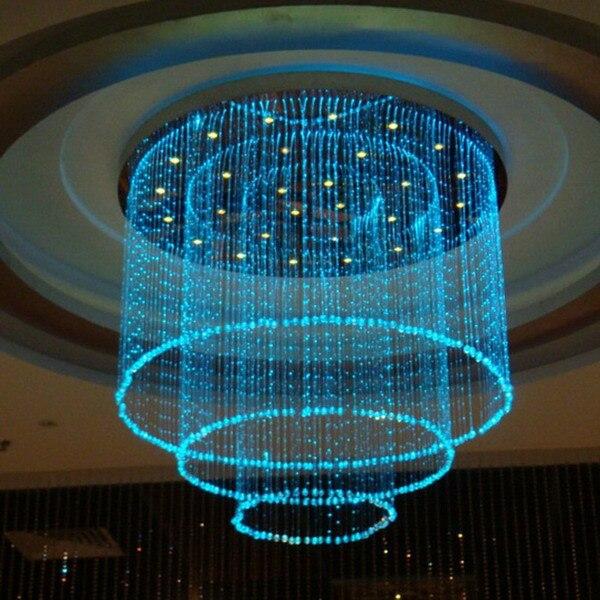 Fasion fiber optique lumi re hall led package ciel toil led lustre plafond starry sky - Ciel etoile led ...