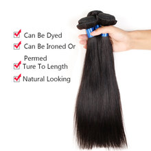 Grade 7A 3Pcs Lot Malaysian Virgin Hair Straight Weave 7A Unprocessed Virgin Hair Malaysian Straight Hair