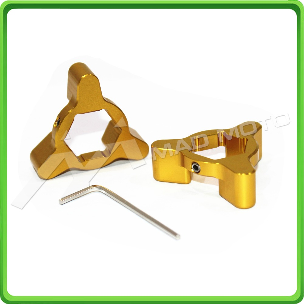 HUIHUAN MADMOTO 22mm Gold Fork Spring Preload Adjusters for Suzuki <font><b>GSXR</b></font> <font><b>600</b></font> / 750 <font><b>2004</b></font> 2005 04 05 Style B image
