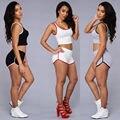 Chándal para mujer verano de las mujeres atractivas sujetador y pantalones conjunto traje de fitness mujeres 2 unidades set juego de las mujeres ropa deportiva trajes