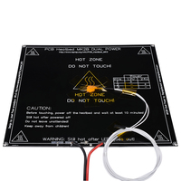 RepRap Mendel PCB Heatbed MK2B With Led And Resistor And Cable For Mendel 3D Printer Hot