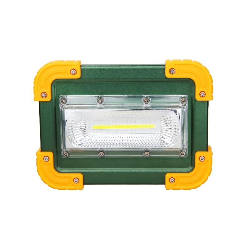 Водонепроницаемый Алюминий сплав 30 Вт удара Светодиодные прожекторы 4 режима USB наводнение пятно света для наружной Отдых