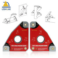LISHUAI Multi Angle Magnetic Welding Clamp Strong Neodymium Magnet Welding Holder WM4