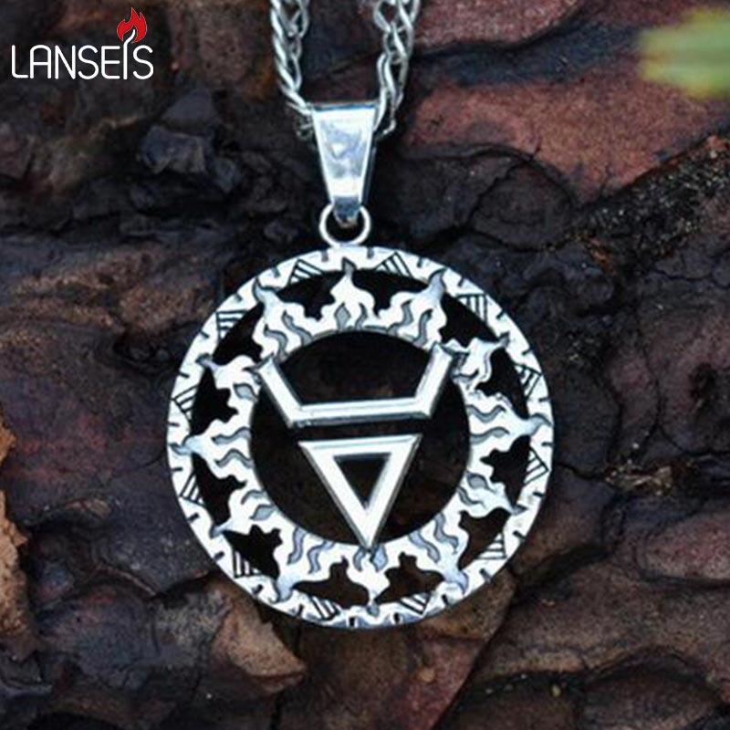 1pcs Veles Symbolwelesavic Wealth Talisman Pendant Ancient