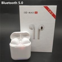 Беспроводной Bluetooth 5,0 наушники i10 Max СПЦ наушники с микрофоном для IPhone samsung Xiaomi Huawei Android Ios телефонов