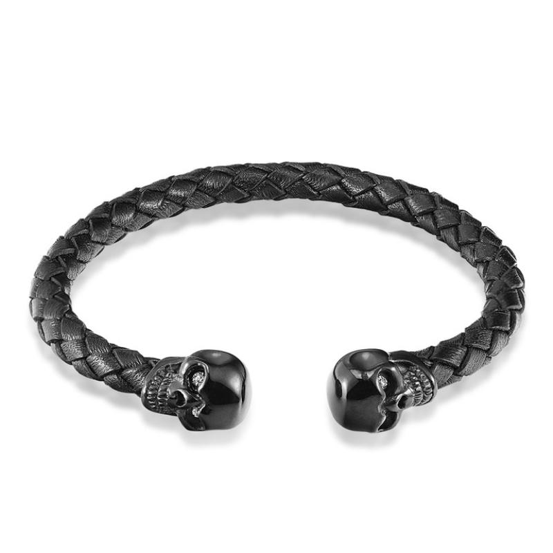 Лидер продаж высококачественный кожаный браслет janeyacy мужской