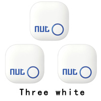 3Pieces Nut 2 Smart KeyFinder Itag Bluetooth Tracker Locator Luggage Wallet Phone Key Anti Lost Reminder