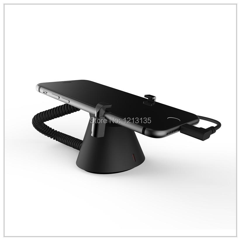 5 PCS / LOT ABS cell mobile phone retails anti-theft security display stand holder alarm, charge/remote control mobile phone