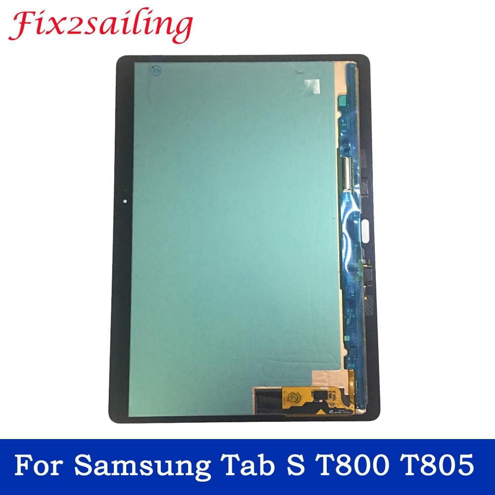 Pour Samsung GALAXY Tab S T800 T805 SM-T800 SM-T805 écran tactile numériseur capteur panneau verre tablette remplacement livraison gratuite