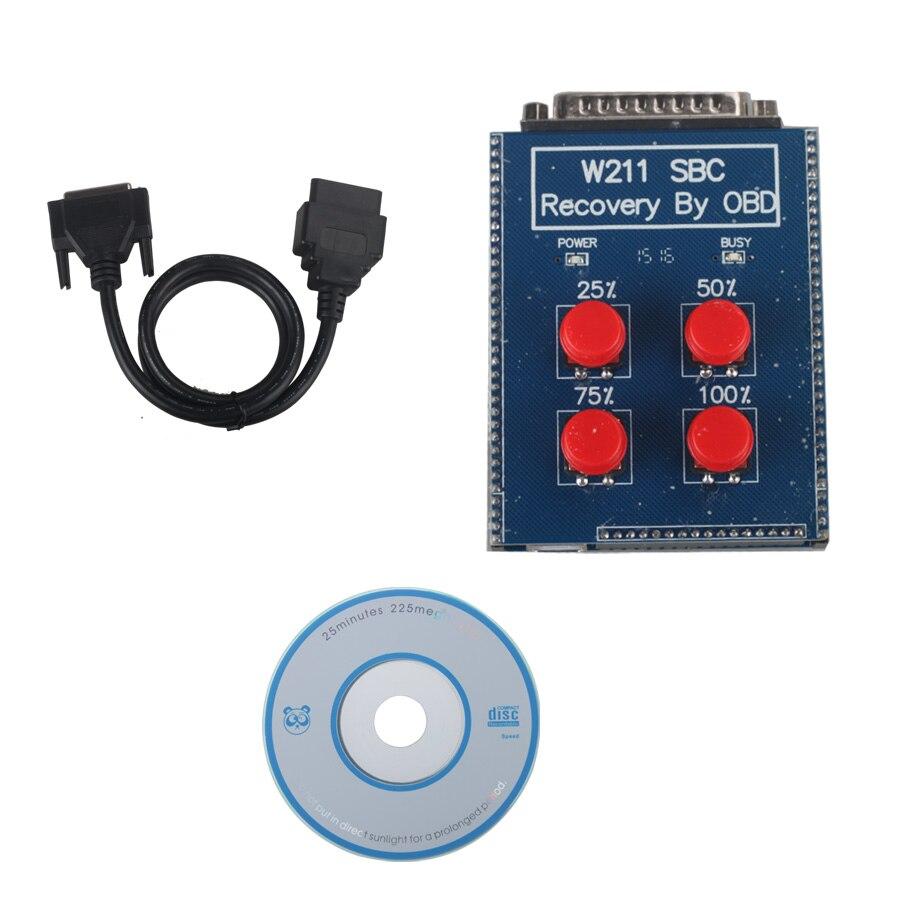 МБ СБК кабель obd2 сброса инструмент W211 / r230 АБС/SBC по (ремонт код C249F) для Mb автомобили имеют W211 r230 с системой АБС SBC JC10