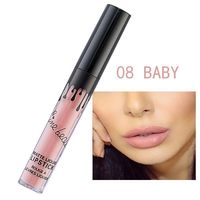 Women Makeup Sexy Matte Lipstick Metallic Colors Long Lasting Waterproof Lip Gloss Liquid Lipstick Cosmetic