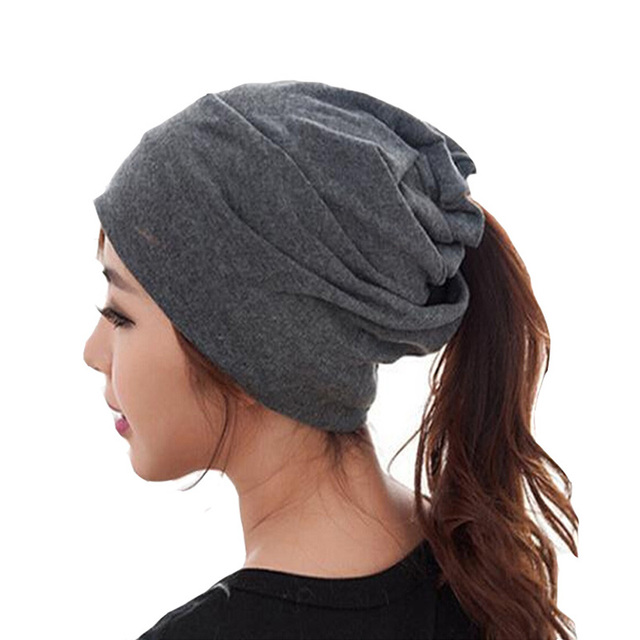 2017 Women Spring Winter Twin Use – Wool Knitted Scarf Or Knitted Turban Style Hat
