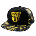 3-12 years old children Transformers hats spring and summer baby caps hats boys and girls baseball cap sun hat travel cap