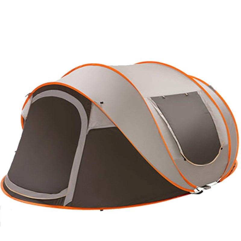 5-8 personne 280*200*120 cm ultra-léger grande tente de Camping imperméable coupe-vent automatique tente une seconde ouvert voyage randonnée tentes