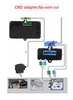 Keyless Entry Sistema No Wire Cut Nessun Tasto Rotto Smartphone GSM GPS Per Auto Blocco/sblocco + Finestra Più Vicina Per Audi A6L A4L Q5