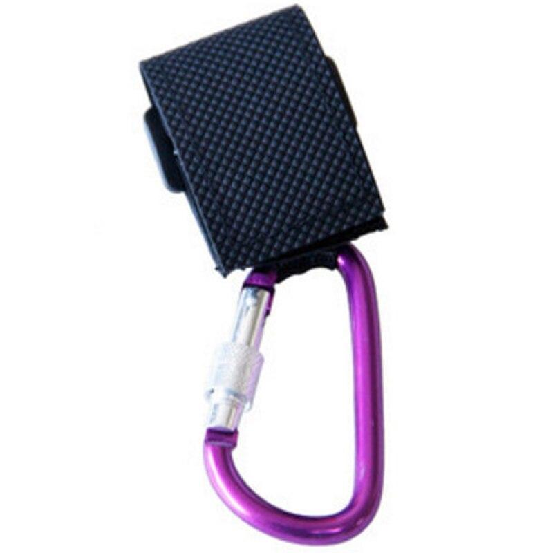 BalleenShiny1pc аксессуары для детских колясок многоцелевой крюк для детских колясок торговый крючок для коляски реквизит вешалка металлический Удобный крючок - Цвет: Фиолетовый
