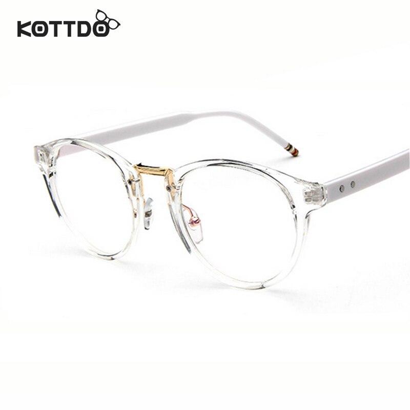 31f6841088f4cc KOTTDO Ronde Rétro Vintage Lunettes Cadre Lunettes Eye Wear Optique Cadre  Hommes Femmes Unisexe Lunettes oculos de grau Cadre