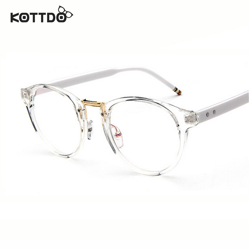 KOTTDO Round Retro Vintage Eyeglasses Frame Glasses Eye Wear Optical Frame  Men Women Unisex Spectacles oculos de grau Framework 1df72289ac