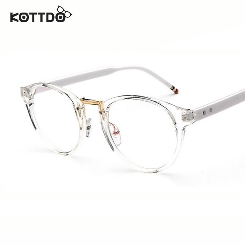 KOTTDO Round Retro Vintage Eyeglasses Frame Glasses Eye Wear Optical Frame  Men Women Unisex Spectacles oculos de grau Framework 1df72289ac