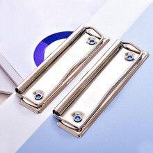 20 stücke Metall Bord Clips Tragbare 10cm Schule Büro Zeichnung Schreibtafel Frühling Clip Multifunktionale Bord Clip Papelaria