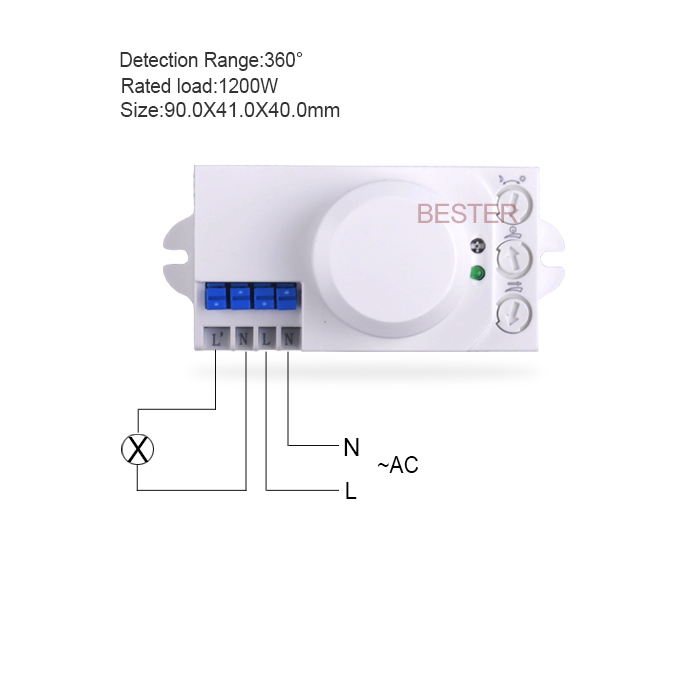 Aliexpress 220v Ac 240v Microwave Sensor Light Switch Auto Induction Motion 4pcs Bs029b From Reliable Board Suppliers
