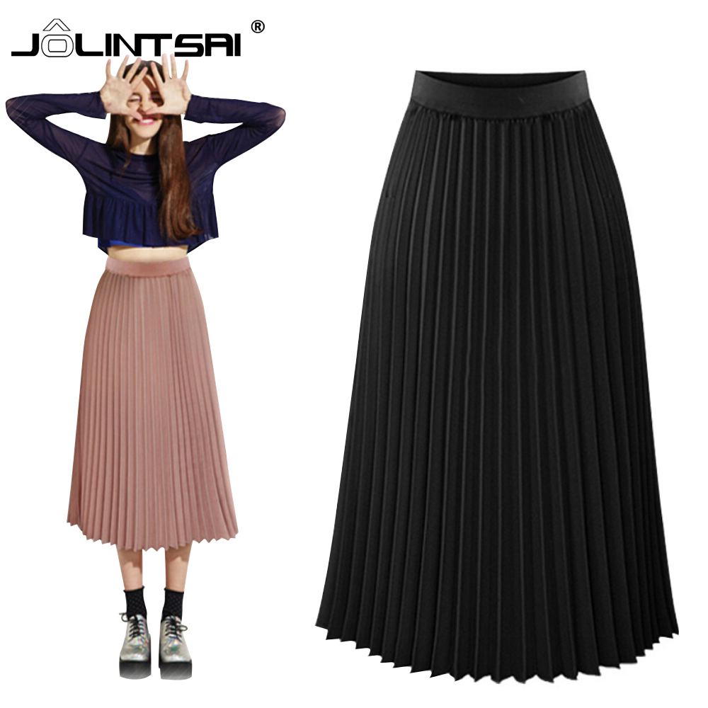 Popular Pleated Chiffon Maxi Skirt-Buy Cheap Pleated Chiffon Maxi ...