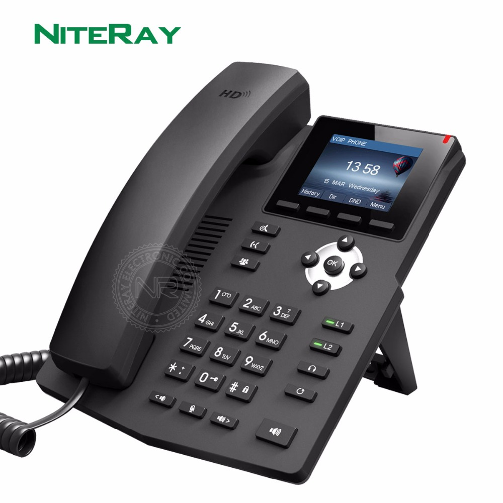Voip Pbx Corded Telephone Desk Voip Phone Home Mini Telephone Intercom SIP Server Basic Phone Business Hotel